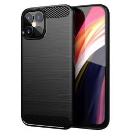 Pouzdro Carbon iPhone 12 Pro Max (Černé)