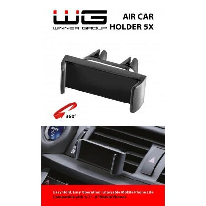 Držák univerzální do auta roztahovací WG 5X (Černý)