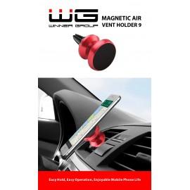 WG Uchwyt samochodowy magnetyczny Kółko red