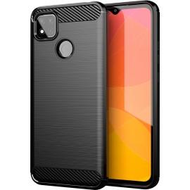 Pouzdro Carbon Xiaomi Redmi 9c (Černé)