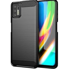 Case Carbon Motorola Moto G9 Plus (Black)
