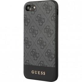Pouzdro Guess 4G Stripe iPhone 7/8/SE(2020) (Šedé)