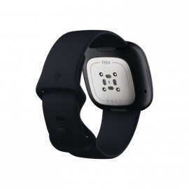 Hodinky Fitbit Sense-Carbon/Graphite Stainless Steel