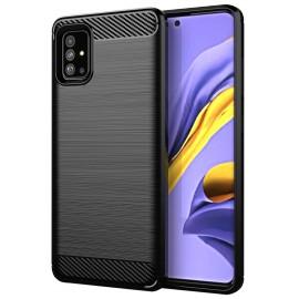 Case Carbon Samsung Galaxy A51(Black)