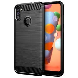 Case Carbon Samsung Galaxy M11/A11 (Black)