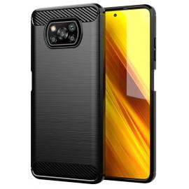 Case Carbon Xiaomi Poco X3 NFC (Black)