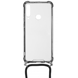 Pouzdro Crossbody Huawei Y6P (Černé-Strap)