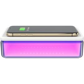 UV sterilizátor WG pro mobily, 1-5min. s QI 15W nabíjením