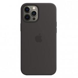 Pouzdro Silicone Case s MagSafe iPhone 12 Pro Max (Černé)