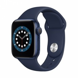 Hodinky Apple Watch Series 6 GPS - 44mm Blue Case-Deep Navy Sport Band