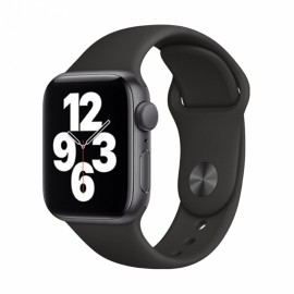 Hodinky Apple Watch SE GPS - 40mm (Space Gray) -Black Sport Band