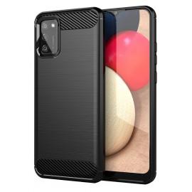 Case Carbon Samsung Galaxy A02s (Black)