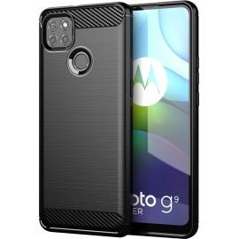 Case Carbon Motorola Moto G9 Power (Black)