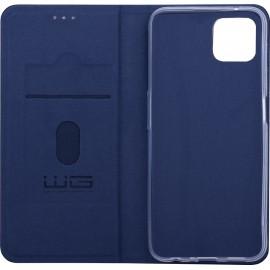 Case Flipbook Duet Oppo A73 5G (Dark blue)