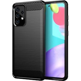 Case Carbon Samsung Galaxy A52 5G / Samsung Galaxy A52 4G (LTE) (Black)
