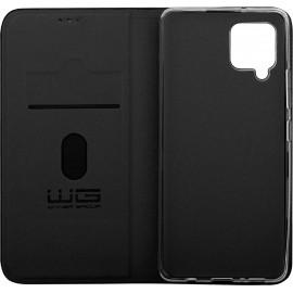 Etui Flipbook Duet Samsung Galaxy M12 (Czarne)