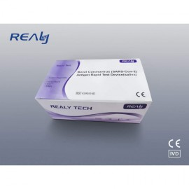 Realy Tech antigenní test ze slin pro SARS-CoV-2 (1 box - 5ks)