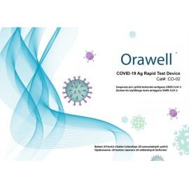 Jiangsu Well Biotech - Souprava pro rychlé testování antigenu SARS-CoV-2 (1 box - 20 testů)