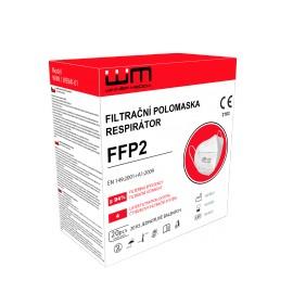 Respirátor FFP2 bez ventilu (Filtrační polomaska)