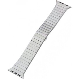 Náhradní řemínek kovový rovný iWatch+ adapter 42/44mm (Stříbrný)