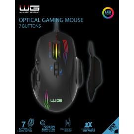 Herní myš WG1 (Černá)